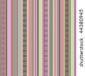 valentine's day pattern ... | Shutterstock .eps vector #44380945