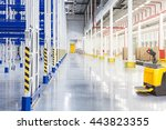 Big Distribution Warehouse Wit...