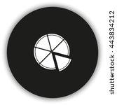 pizza flat icon.