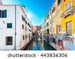 view of the rio marin canal... | Shutterstock . vector #443836306