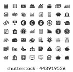 financial icons set | Shutterstock .eps vector #443919526