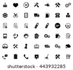 service icons | Shutterstock .eps vector #443932285
