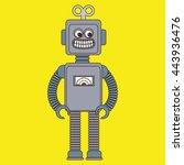 toy kids design  vector... | Shutterstock .eps vector #443936476