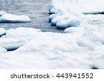 Natural Sea Ice Blocks Breakin...