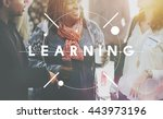 educate learn knowledge... | Shutterstock . vector #443973196