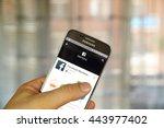 montreal  canada   june 24 ... | Shutterstock . vector #443977402