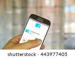 montreal  canada   june 24 ... | Shutterstock . vector #443977405