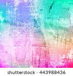 abstract grunge style soft... | Shutterstock .eps vector #443988436