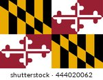 vector image of  maryland state ... | Shutterstock .eps vector #444020062