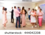 abstract blur people in... | Shutterstock . vector #444042208