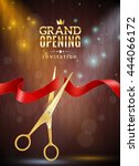 grand opening invitation... | Shutterstock .eps vector #444066172