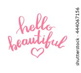 lettering vector text with