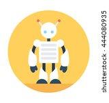 robotics vector icon   Shutterstock .eps vector #444080935
