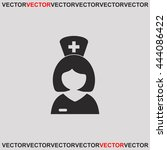 nurse icon. | Shutterstock .eps vector #444086422