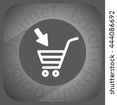 shopping cart  basket  icon   Shutterstock .eps vector #444086692