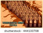 Vintage Poster Of Terracotta...