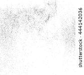 black grainy texture isolated...   Shutterstock .eps vector #444142036