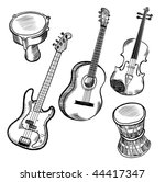 music instruments collection....