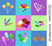 background with colorful...   Shutterstock .eps vector #444195232