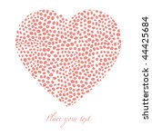 valentine background | Shutterstock .eps vector #44425684