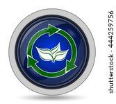 recycle arrows icon. internet... | Shutterstock . vector #444259756