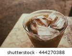 cola with ice cubes | Shutterstock . vector #444270388