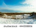 Beautiful White Powder Sand...