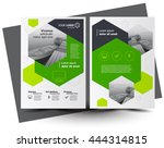 flyer brochure design  business ... | Shutterstock .eps vector #444314815