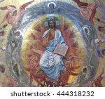 saint petersburg russia august... | Shutterstock . vector #444318232