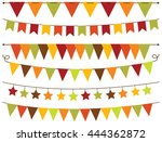 Bunting Flags Thanksgiving  ...