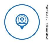 laurel wreath vector | Shutterstock .eps vector #444468352