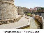 a view of fort michelangelo... | Shutterstock . vector #444488155