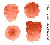 illustration of watercolor spots | Shutterstock . vector #444522982