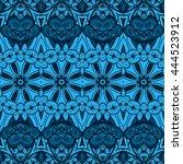seamless abstract tribal...   Shutterstock . vector #444523912