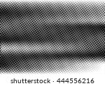 grunge dotted black and white... | Shutterstock .eps vector #444556216