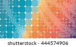 square blue orange violet... | Shutterstock .eps vector #444574906