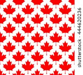 abstract canadian seamless... | Shutterstock .eps vector #444620236