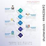 design business concept... | Shutterstock .eps vector #444620692
