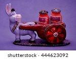 Ceramic Donkey Figurine