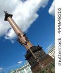 the alexander column in the... | Shutterstock . vector #444648202