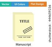 manuscript under review icon....