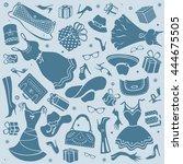 women things symbols  | Shutterstock . vector #444675505
