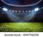 3d rendering of sport concept... | Shutterstock . vector #444756436