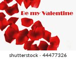 be my valentine | Shutterstock . vector #44477326