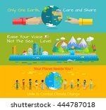environment protection concept... | Shutterstock .eps vector #444787018