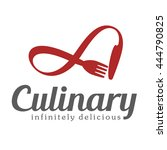 culinary emblem  logo for... | Shutterstock .eps vector #444790825