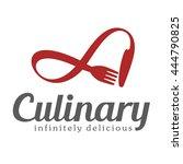 culinary emblem  vector logo... | Shutterstock .eps vector #444790825