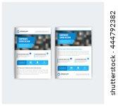 blue business multipurpose ... | Shutterstock .eps vector #444792382