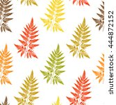 vector floral seamless pattern. ... | Shutterstock .eps vector #444872152