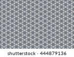 geometric abstract kaleidoscope ... | Shutterstock . vector #444879136